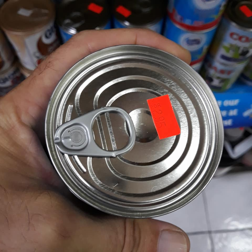 Materials Condensed Milk cans are perfect for souvenors and workshops.